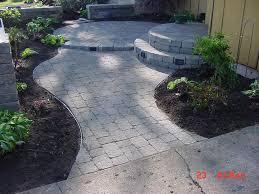 paver patio edging patio edging bricks awesome brick patio designs and ideas