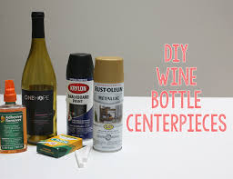 wine bottle centerpieces diy wine bottle centerpieces inspired by this lifestyle