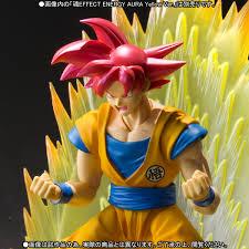 dragon ball sh figuarts super saiyan god son goku details