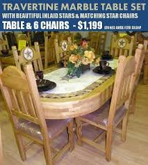 Travertine Dining Room Table Rustic Dining Table Set Handy Dandy Pinterest Rustic Dining