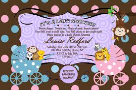monkey invitations baby shower baby shower invitation for twins boy and twins baby shower
