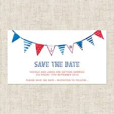 nautical save the date nautical bunting save the date magnets