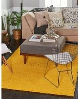 6 X 9 Area Rug Sweet Deal On Unique Loom Solid Shag Collection Tuscan Sun Yellow