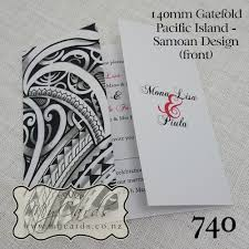 wedding invitations island pacific island samoan wedding invitation design 740 mycards akld