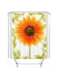 Kitchen Curtains On Sale by Dreamhome Kayla U0027s Sunflowers Kitchen Curtain White By Dreamhome