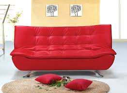 Sofas Beds For Sale Leather Sofa Deluxe Red Venice Faux Leather Sofa Bed Red Leather