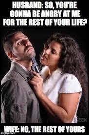 Wife Husband Meme - typical lovers quarrel imgflip