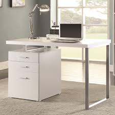 Desk And Filing Cabinet Set Writing Desk With File Drawer And Reversible Right Or Left Handed