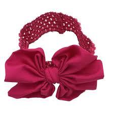 headbands with bows xima 15pcs 1 5 inch elastic crochet headbands with bows bows