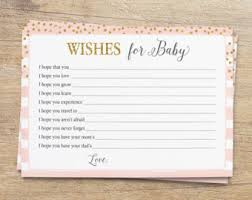 baby shower advice cards baby advice cards etsy