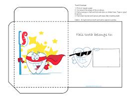 tooth envelope kidscanhavefun blog
