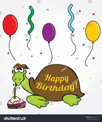 cute turtle birthday card stock vector 107272154 shutterstock