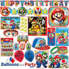 mario party supplies amscan birthday child party decorations ebay