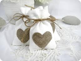 wedding favor bags wedding favor bags set of 10 white rustic linen wedding