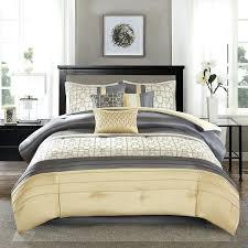 Tan Comforter Bedding Sets Terrific Yellow Gray Bedding Set Bedroom Furniture