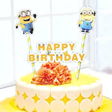minions cake toppers minion cake supplies birthday cakes images remarkable despicable