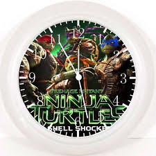 Ninja Turtle Wall Decor Teenage Mutant Ninja Turtles Clock Ebay