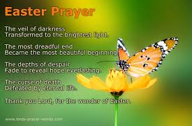 easter prayers and blessings poem quotes