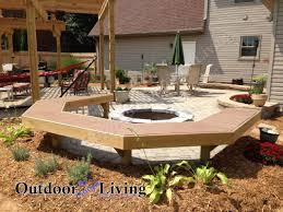 backyard patio firepit outdoor kitchen u0026 deck ideas lexington
