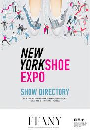 ffany new york shoe expo directory jan 31 feb 2 2017 by ffany