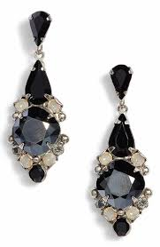 black chandelier earrings women s black chandelier earrings nordstrom