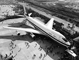 first airplane ever made as the 747 begins its final approach a pilot takes a flight down