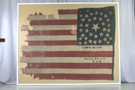 Civil War Union Flag Pictures Civil War Battle Flags From Wilson U0027s Creek National Battlefield