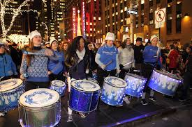 Radio City Ny Shows New York City U0027s Women Drummers Marching Band Samba Batala