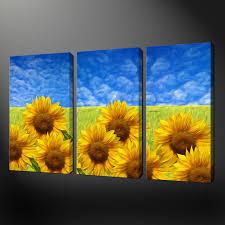sunflower wall art uk sunflower wall art sticker online