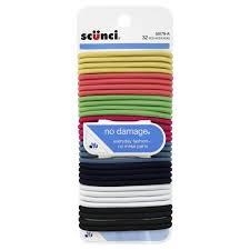 scunci hair scunci hair ties everyday fashion 32 pieces 5 79 rite aid