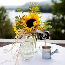 sunflower centerpieces sunflower wedding centerpieces adastra