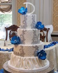 wedding cake royal blue wedding cakes cupcakes