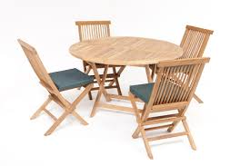 Teak Outdoor Furniture Atlanta by San Diego Rattan Garden Furniture 4 Seater Round Table Set Garden