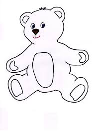 teddy bear outline logo