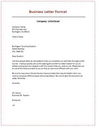 layout of business letter writing 6 sles of business letter format to write a perfect letters