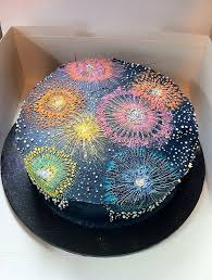 Quick And Easy New Years Decorations by Best 25 Fireworks Cake Ideas On Pinterest Fourth Of July Food