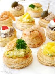puff pastry canape ideas retro vol au vent recipe appetizers ideas