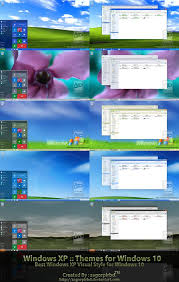themes download for pc windows 10 xp themes final for win10 by sagorpirbd on deviantart