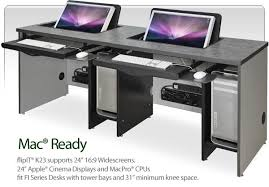 bureau ordinateur intégré une série de bureaux pour mac macgeneration