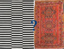 internal rug debate simple black and white geometric or ethnic