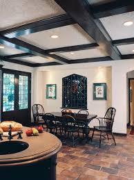deco home design traditional kitchen cobblestone flooring