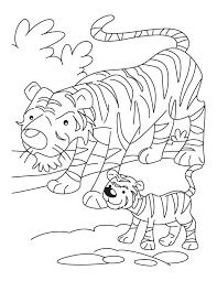 tiger coloring pages 2 tiger coloring pages wild animals tiger