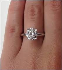wedding wishes russian a 4 2ct cut solitaire russian lab diamond ring