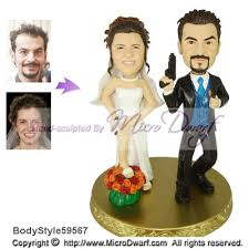 cake toppers bobblehead microdwarf wedding cake toppers wedding figurine wedding