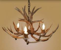 Antler Chandelier Canada Antler Chandelier 4 Light Mule Deer Log Furniture And More