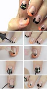 awesome halloween nail art designs hubpages