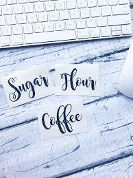 kitchen decal sugar label flour label coffee label kitchen