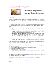 5 appreciation letter to teacher from parents adjustment letter
