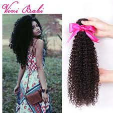 curly black hair sew in 7a vivi babi afro kinky curly hair 4 bundles brazilian kinky curly