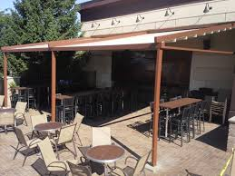 Pergola With Awning by Level Retractable Deck U0026 Patio Awnings Sunair